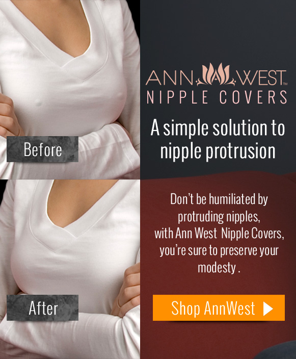 Ann West Nipple Covers